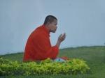 10/01/2013 - Bangkok, Thaïlande : Qui a dit que le bouddhisme n'était pas source de stress