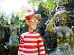 27/12/2012 – Ko Samui, Thaïlande : Charlie au magic garden