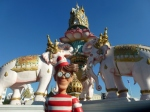 10/01/2013 – Bangkok, Thaïlande : De retour dans la capitale Thaïlandaise, Charlie fait son touriste