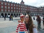 26/04/2013 – Madrid, Espagne : El beso !