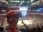 02/05/2013 – Chicago, USA : S'il avait joué, les Bulls auraient gagné. No doubt.