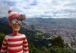 27/06/2013 – Colombie, Bogota : Charlie prend de la hauteur
