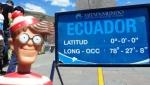 11/07/2013 – Equateur, Quito : Charlie, c'est pas un zéro ... Et pourtant...