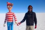 15/09/2013 – Bolivie, Salt Flats : Charlie & I