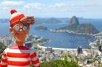 11/10/2013 – Brésil, Rio : Charlie & la vue la plus célèbre de Rio