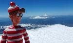13/11/2012 – Pucon, Chili : Charlie au sommet du Villarrica
