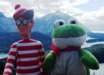 22/11/2012 – Bariloche, Argentine : Charlie sympathise avec Felipe, son homologue Argentin !