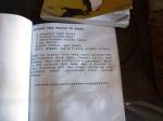06/12/2012 – Port Lockroy, Uk, Antarctique : Une petite recette locale à base de cervelle de phoque ... Hmmm …