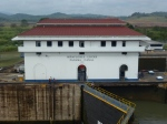 L'une des écluses du canal de Panama