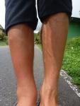 On va dire que la jambe droite ne ressemble plus tout à fait à sa consoeur ...