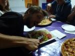 Tentative de repas diététique en milieu ogresque