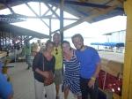 Dernière photo du gang of four au départ de Bocas