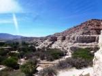 Vue depuis le sentier de randonnée de la Pena Blanca