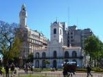 Le Cabildo, ancienne municipalité de BA, à l'ouest de la Plaza Mayo
