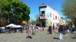Début du Caminito, dans le barrio de la Boca