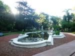 Un petit jardin autour de la Plaza Italia