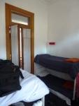 La chambre, 8 lits superposés !