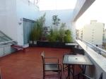 La terrasse au 5ème étage
