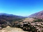 Vue de la vallée de Tilcara