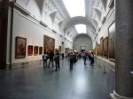 L'entrée du musée du Prado