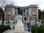 Le musée du Prado vu de l'extérieur