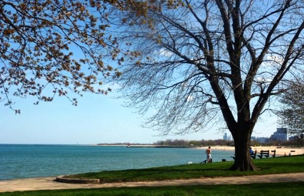 Osterman Beach, en bordure du lac Michigan