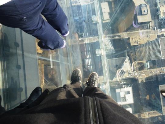 436 mètres de vide sous les pieds !