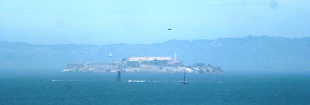La célèbre Alcatraz, que je n'ai malheureusement pas vu visiter : sold out !