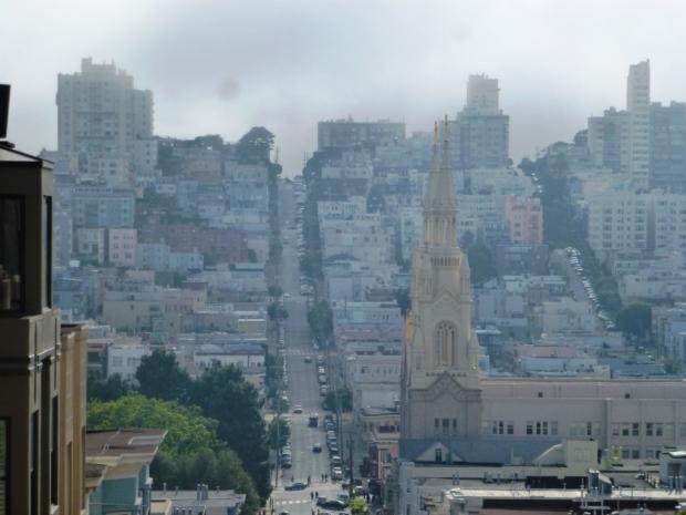 Les célèbres rues en pente de SF !