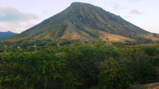 Tiens, un volcan