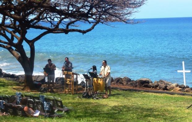 Maui Island : une petite messe sur la plage