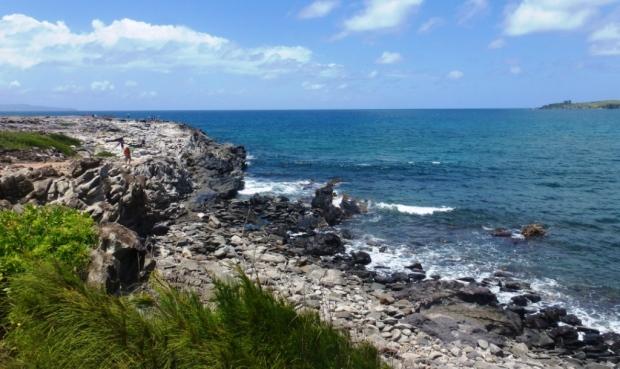 Au nord de l'île de Maui