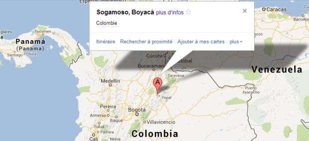 Map Sogamoso