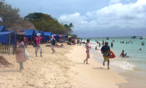Playa Blanca sous le soleil