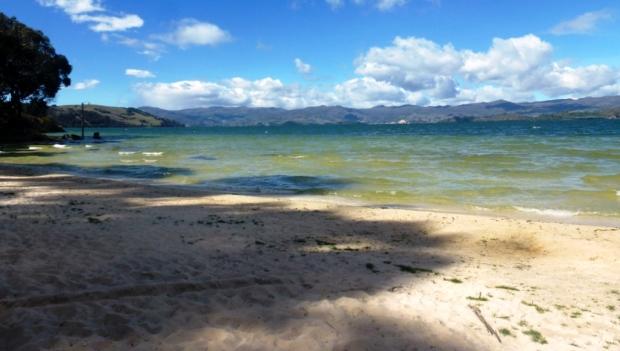Lago de Tota, Playa blanca