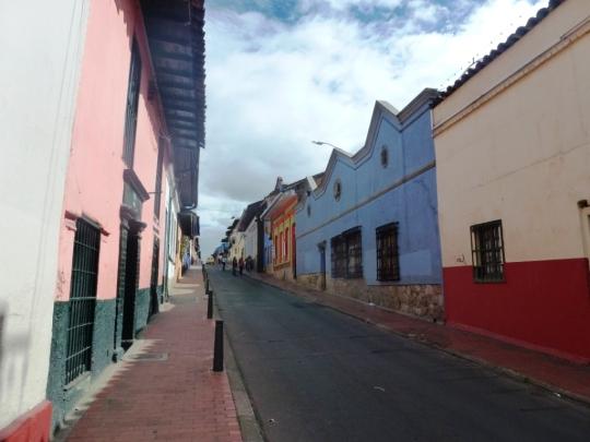 Dans la Candelaria, le quartier historique
