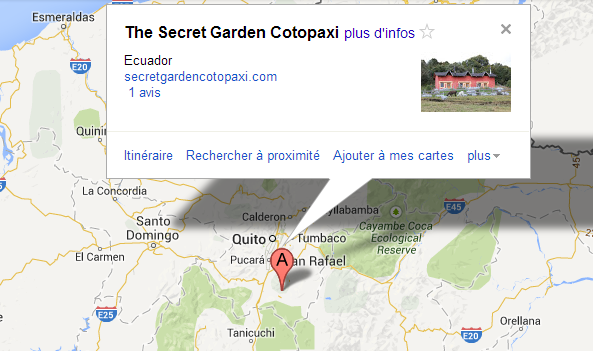 Map Cotopaxi