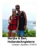 Marijke and Ben