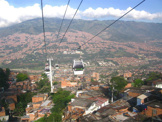 Medellin-cable-car-system