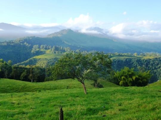 Vue depuis la Serrana
