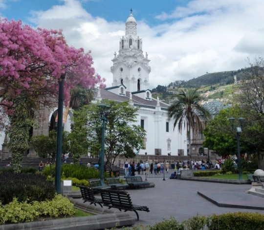Plaza Grande et Cathédrale