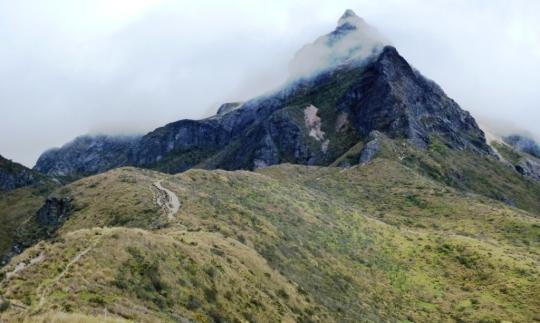Le Rucu Pichincha à découvert