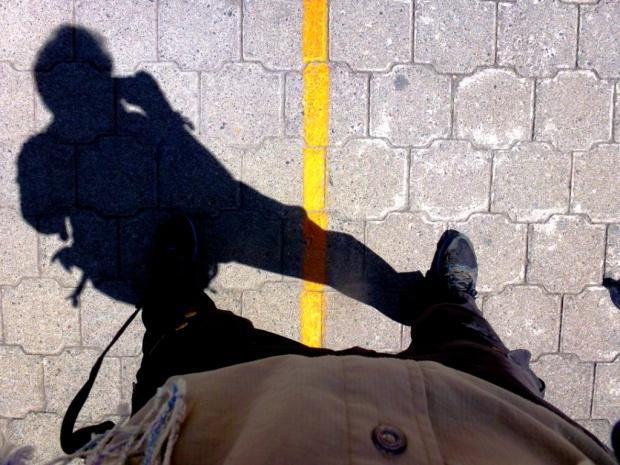 Un pied dans l'hémisphère nord, un pied dans l'hémisphère sud