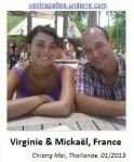 Virginie Murat & Mickael - Blog