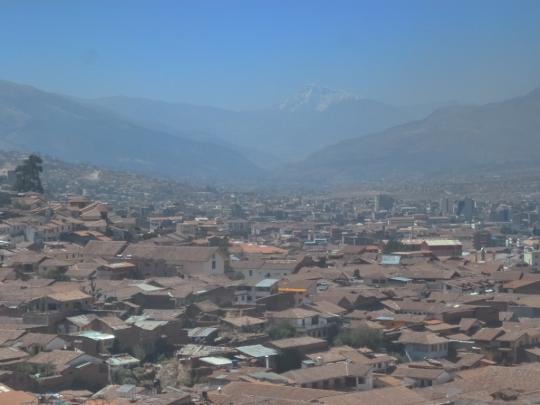 Cuzco vue d'en haut