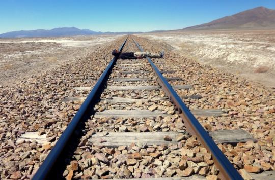 Ligne de Train Uyuni - Calama (Chili)