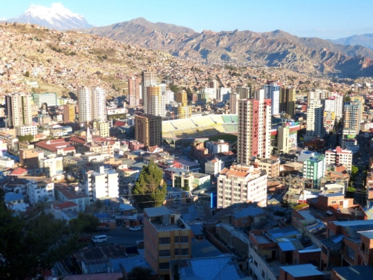 Hauteurs de La Paz