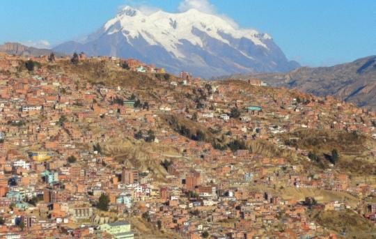 Mont Illimani : 6402m