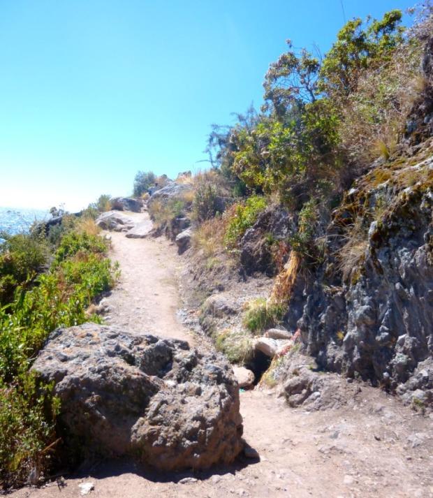 Sur la route du Cerro Calvario