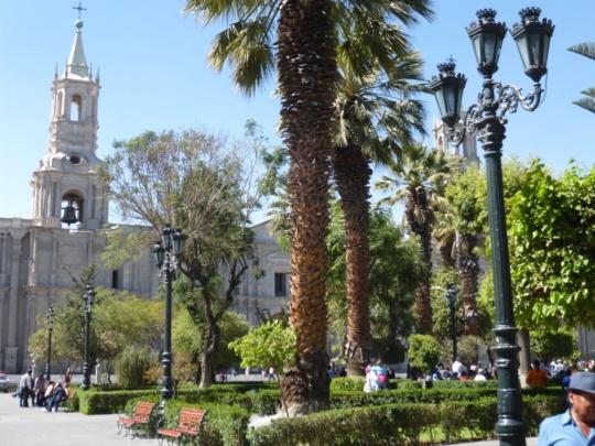 Place principale d'Aréquipa